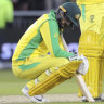 Australia fall to South Africa, to meet England in World Cup semi final
