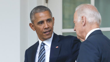Barack Obama has officially endorsed his former vice-president Joe Biden.