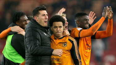 Promoted club Wolves at least has plenty of financial muscle.