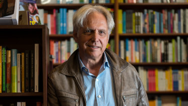 Readings managing director Mark Rubbo says online sales went up 700 per cent during the coronavirus shutdowns.