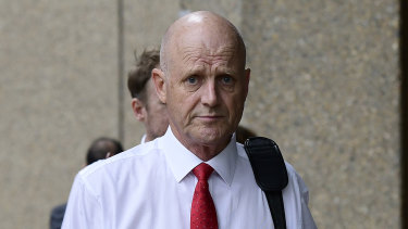 Former senator David Leyonhjelm on Wednesday.