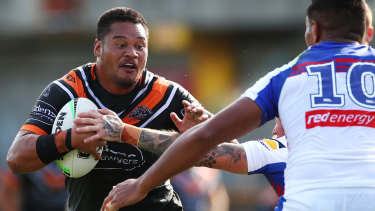 At his best, Joey Leilua gives Wests Tigers real X-factor.