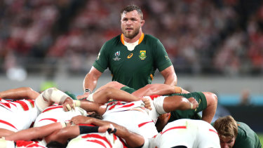Springbok Duane Vermeulen says South Africa aren't concerned by 'individual errors'.