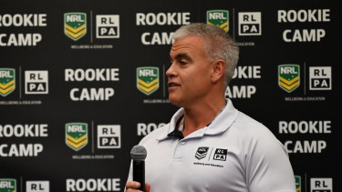 Wellbeing and engagement programs manager Tony McFadyen said the Panthers, in particular, have a number of players starting short courses this week.