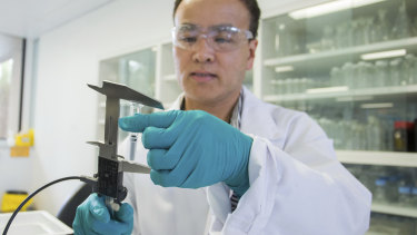 CSL says it's priority is the manufacture of the University of Queensland vaccine candidate.