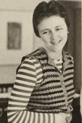 Helen Garner after winning the 1978 National Book Council Award of $2500 for her novel Monkey Grip.