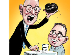 A noble crusade: BHP director Malcolm Broomhead and former CEO Andrew Mackenzie