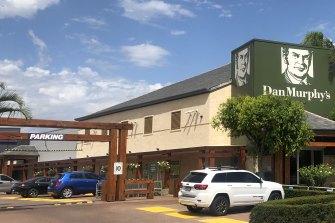 A Dan Murphy's store.