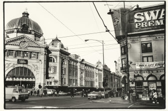 Flinders Street Station in 1991.