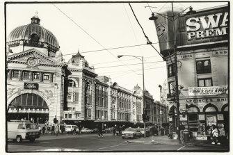 Flinders Street Station in 1991.