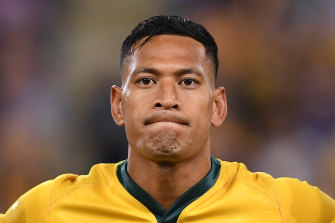 Israel Folau was sacked by Rugby Australia for his offensive remarks about gay people.