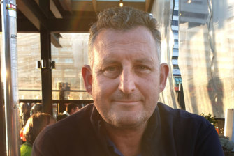 Colin Waters, 49, was hit and killed by a car in Taylors Lakes.