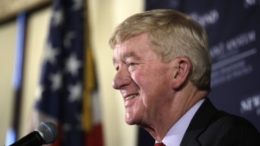 Massachusetts Governor William Weld.
