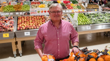 Coles managing director Steven Cain will reveal his plans for the business next week.