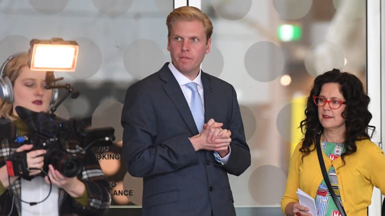 Comedian Mark Humphries joined the ABC's 7.30 program in early October.