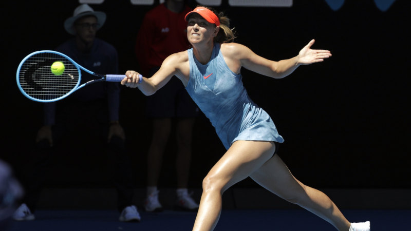 Australian Open 2019 Maria Sharapova Defeats Harriet Dart In First