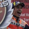 Marquez wins in Valencia, Australian Miller third