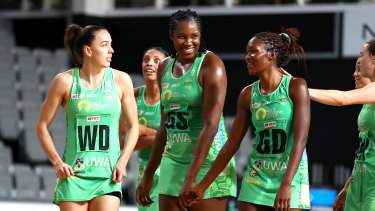 The Fever are one of just three clubs left in the Super Netball season.