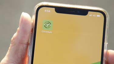 The COVIDSafe App was released on Sunday.