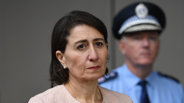 NSW Premier Gladys Berejiklian on Monday.