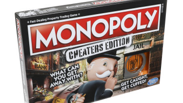 It's Monopoly, but with a sneaky twist.