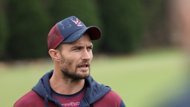 New Manly signing Kieran Foran is looking for a better run with injury this season after years of disrupted campaigns.