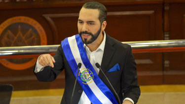 El Salvador's president Nayib Bukele is proposing permanent residency for anyone who spends at least three bitcoins (about $US100,000) on anything from office furniture to houses and cars.