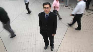 Already detained once: Chinese-Australian writer Yang Hengjun.