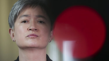 Labor's Senate leader Penny Wong has criticised a travel exemption for former prime minister Tony Abbott.