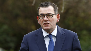 Daniel Andrews speaks to the media on  Wednesday about party reforms. But he is likely to face more questions about what he knew and when.