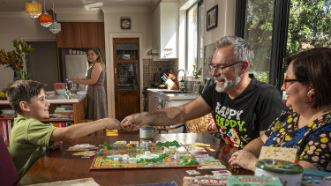 The Fincke family have been baking, crafting and playing plenty of boardgames like many who returned to simple hobbies while at home.