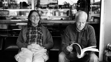 Rip Curl founders Brian Singer and Douglas Warbrick.