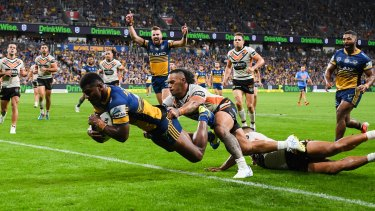 The Eels and Tigers will renew their rivalry at its new home, Bankwest Stadium.