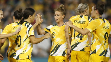 The Matildas are in a holding pattern for Tokyo.