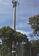 The Mount Eliza phone tower was set alight on October 7, causing more than $1 million worth of damage.
