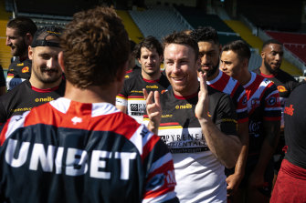 James Maloney has zero interest in a Roosters return.