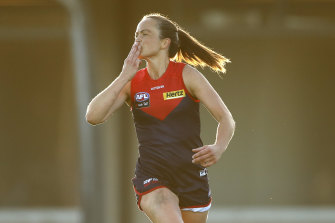Melbourne skipper Daisy Pearce had another starring role.