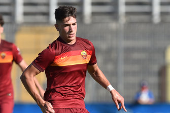 Shining in the eternal city: Cristian Volpato is training under Jose Mourinho at Roma.