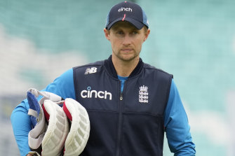 England coach Chris Silverwood said Test captain Joe Root (pictured) played a key role in convincing players to sign up for the Ashes tour.
