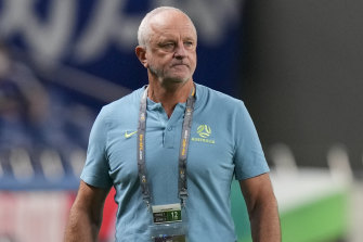 Australia's head coach Graham Arnold said the crowd played a big part in Japan's win over the Socceroos on Tuesday night.