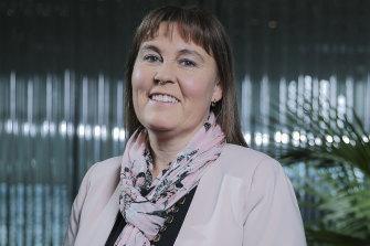 Bendigo and Adelaide Bank CEO Marnie Baker.