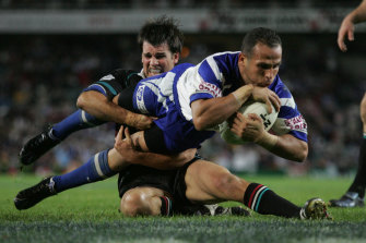 Every one of Hazem El Masri's 159 NRL tries came before the 2010 rule change.  The athletic fan favourite retired the year before.