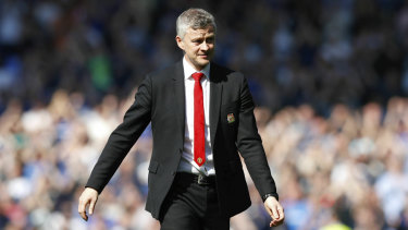 Ole Gunnar Solskjaer apologised to fans.