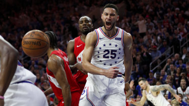 Jekyll and Hyde: Game seven will be crucial for Philadelphia's Ben Simmons.