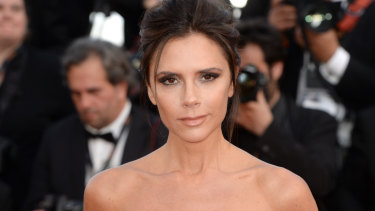 Victoria Beckham is a master of the half-smirk.