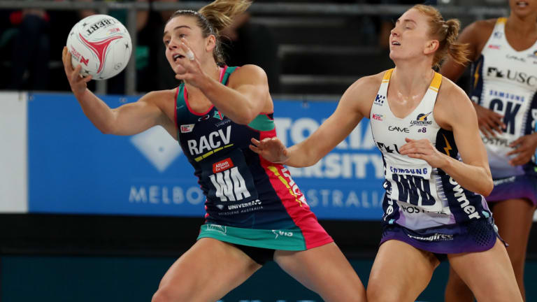 Liz Watson (left) had a huge year for the Vixens.