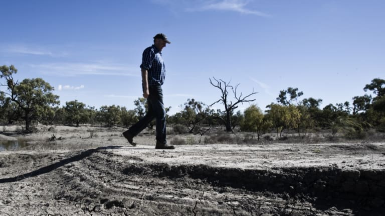 Farmers downstream on the Darling River have spoken out about upstream activities that have depleted river flows.