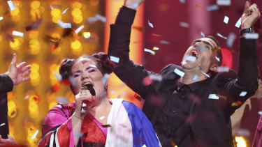 Netta from Israel wins the 63rd annual Eurovision Song Contest.