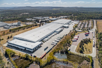 A Woolworths distribution centre in western Sydney is expected to sell for about $110m