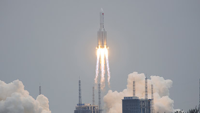 A Chinese rocket is crashing back to Earth. Where will it land?